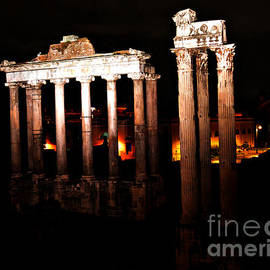 Nancy Bradley - Roman Forum at Night