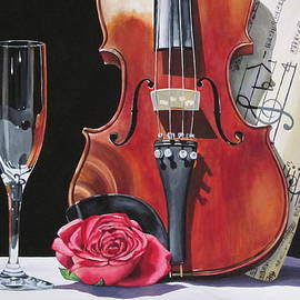 Romance Me with Violin by Lillian  Bell