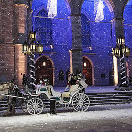 Alex Khomoutov - Romantic Night Lights Ride in Old Montreal?