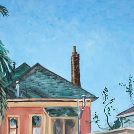 Asha Carolyn Young - Rooftops and Blue Sky