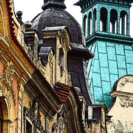 Ira Shander - Rooftops in Prague