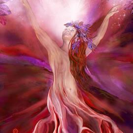 Root Chakra Goddess by Carol Cavalaris