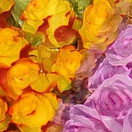 Rose Bunches by Barbie Corbett-Newmin