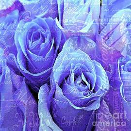 Saundra Myles - Roses are Purple and Lilac and blue