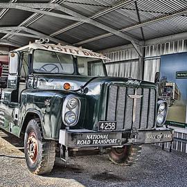 Douglas Barnard - Rotinoff of London Truck-Powered by Rolls Royce