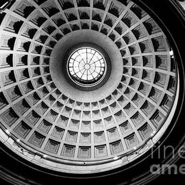 Thomas Marchessault - Rotunda Dome Black and White