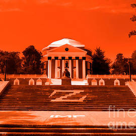 Nigel Fletcher-Jones - Rotunda UVA Orange
