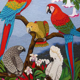 To-Tam Gerwe - Round Table Discussion hand embroidery