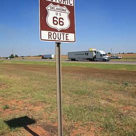 Frank Romeo - Route 66 - Oklahoma Shield