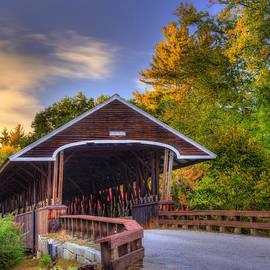 Joann Vitali - Rowell Covered Bridge in Autumn
