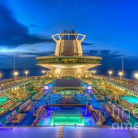 Royal Carribean Cruise Ship  by Michael Ver Sprill