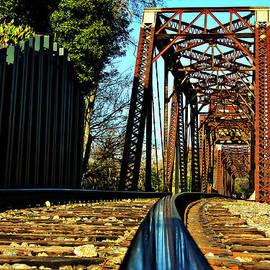 Reid Callaway - 6th Street Trestle Bridge Augusta Georgia Savannah River Art