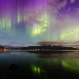 David Broome - Rural Fjordland Aurora