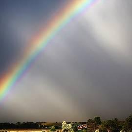 David Broome - Rural High Plains Prairie Rainbow