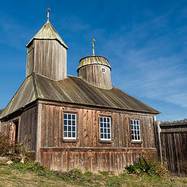 Russian Orthodox Chapel at Fort Ross by Kathleen Bishop