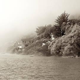 Russian River in Fog by Jim Lipschutz