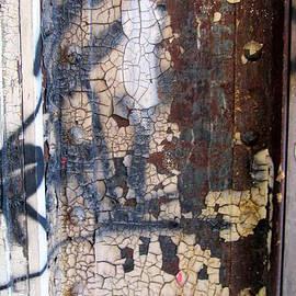 Rust W Crackle Paint by Anita Burgermeister