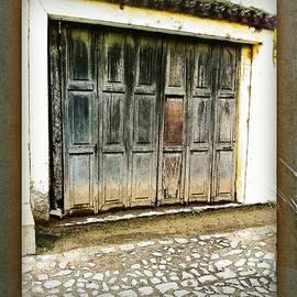 Rustic Garage Door by Ellen Cannon