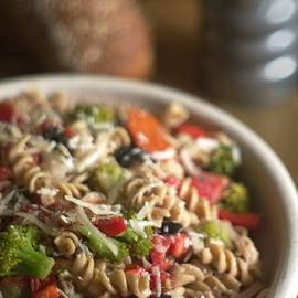 Rustic Whole Wheat Pasta Salad Food Image by Suzanne Powers