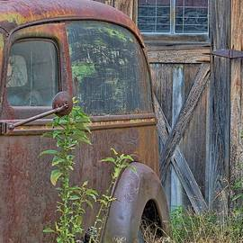 Liane Wright - Rusty Vintage Ford Panel Truck