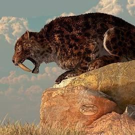 Daniel Eskridge - Saber-Tooth on a Rock