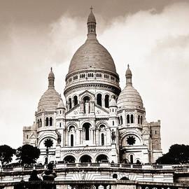Sacre Coeur Basilica in Paris by Elena Elisseeva