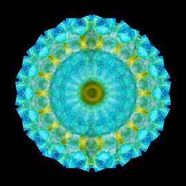 Sharon Cummings - Sacred Voice - Mandala Art By Sharon Cummings