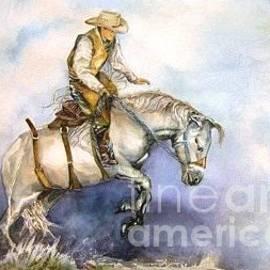 Deborah Ruby - Saddle Bronc