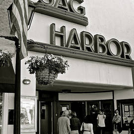 Christy Gendalia - Sag Harbor Theater in Black and White