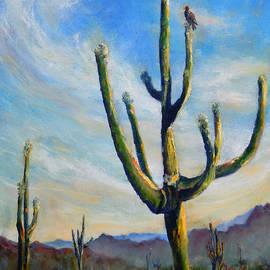 Saguaro Cacti by Carolyn Jarvis