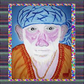 Navin Joshi - Sai Baba of Sirdi Art by Navin Joshi
