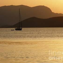 Sophie Vigneault - Sailboat at sunset