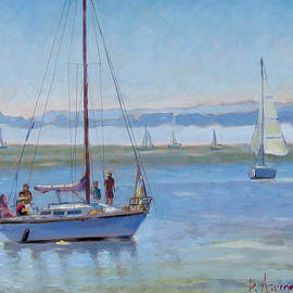 Dominique Amendola - Sailboat Coming To Port