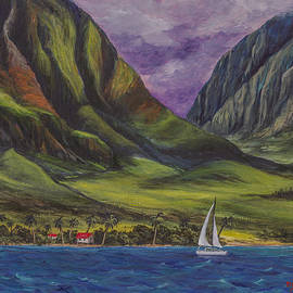 Sailing West Maui by Darice Machel McGuire