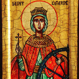 Ryszard Sleczka - Saint Catherine of Alexandria Icon