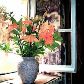 Joan  Minchak - Saint Emilion Window