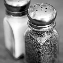 Salt and Pepper Shaker by Iris Richardson