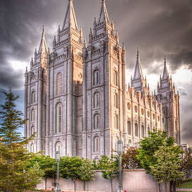 Salt Lake Temple by Niels Nielsen