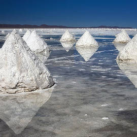 Salt Pyramids by Kim Andelkovic