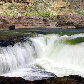Salt River Canyon Waterfall by Douglas Taylor