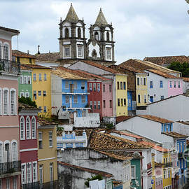 Salvador Brazil The Magic Of Color 2 by Bob Christopher