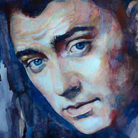 Sam Smith in watercolor by Laur Iduc