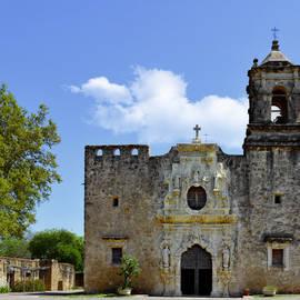San Antonio Church Mission San Jose by Christine Till