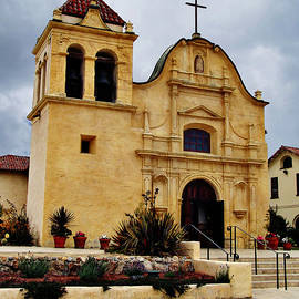 San Carlos Cathedral - Monterey California by Glenn McCarthy Art and Photography