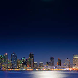 San Diego Downtown Skyline by Songquan Deng