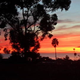 San Diego Sunset 5 by Val Oconnor