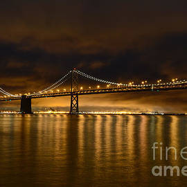 Carlos Alkmin - San Francisco - Bay Bridge at Night