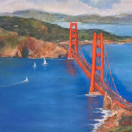 Hilda Vandergriff - San Francisco Bay Bridge