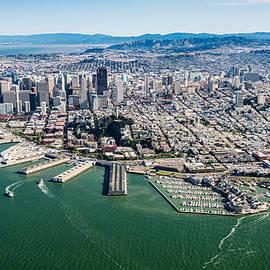 Steve Gadomski - San Francisco Bay Piers Aloft