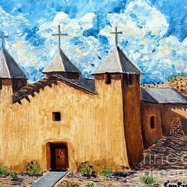 San Jose Church by Santiago Chavez
